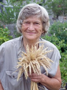 Joan Dye Gussow, outspoken godmother of the local-food movement, comes to Granville this week for Ohio's sold-out organic food conference. Photo Credit: Susan Frieman