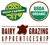 Begin Farming | USDA Organic | Dairy Grazing Apprenticeship
